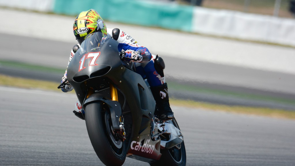 Karel Abraham, Cardion AB Motoracing - Sepang Official MotoGP Test 1 © Milagro
