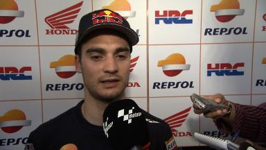 A routine opening day for Dani Pedrosa