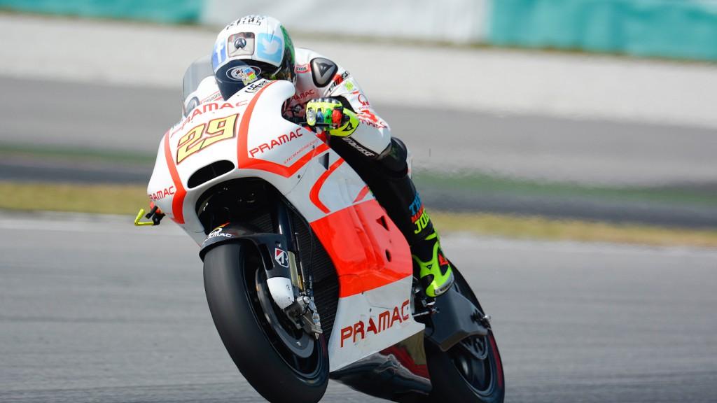 Andrea Iannone, Pramac Racing - Sepang Official MotoGP Test 1 © Milagro