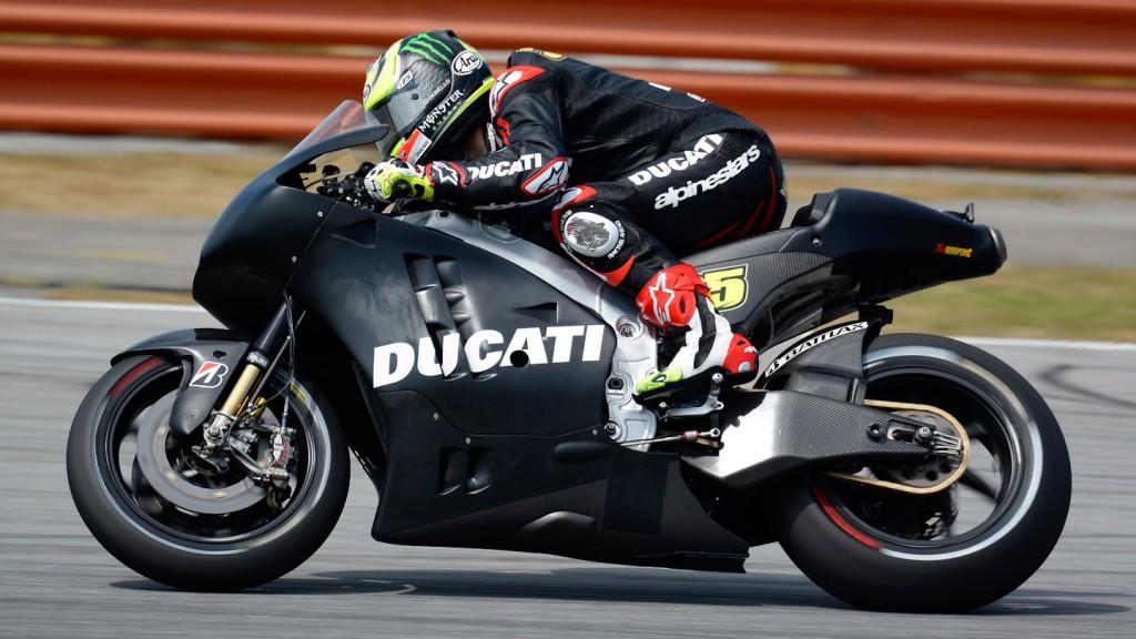Cal Crutchlow, Ducati Team - Sepang Official MotoGP Test 1 © Milagro