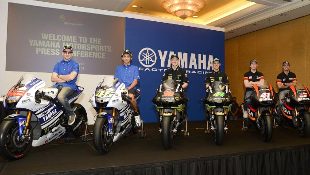 Yamaha Announce 2014 Global Racing Program