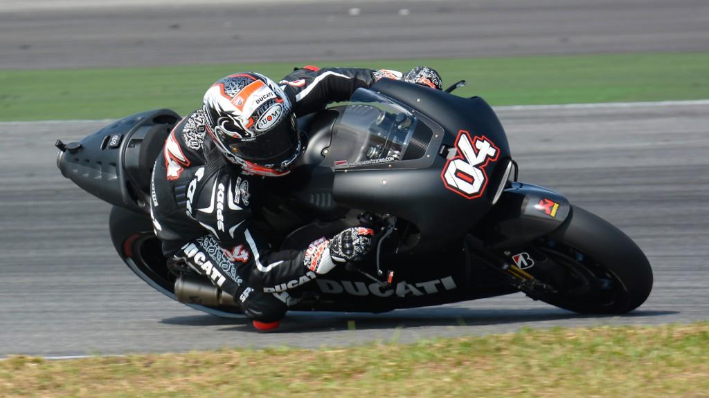 Andrea Dovizioso, Ducati Team - Sepang Official MotoGP Test 1 © Milagro