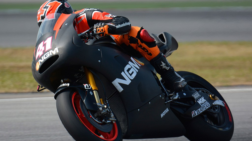 Aleix Espargaro, NGM Mobile Forward Racing - Sepang Official MotoGP Test 1 © Milagro