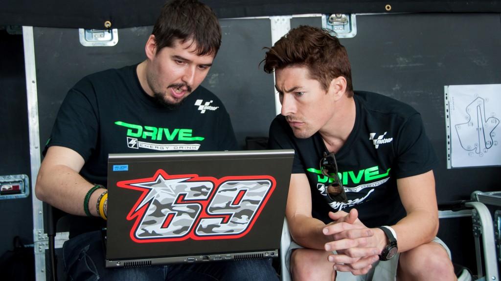Nicky Hayden, Drive M7 Aspar - Sepang Official MotoGP Test 1