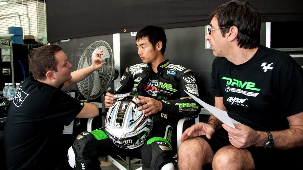 Hiroshi Aoyama, Drive M7 Aspar - Sepang Official MotoGP Test 1