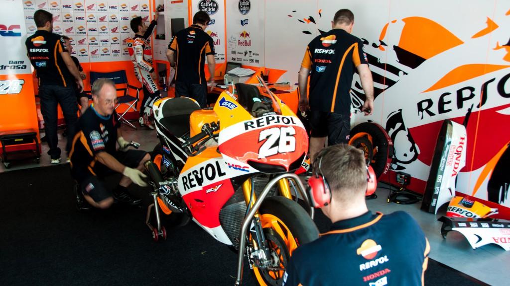 Dani Pedrosa, Repsol Honda Team - Sepang Official MotoGP Test 1