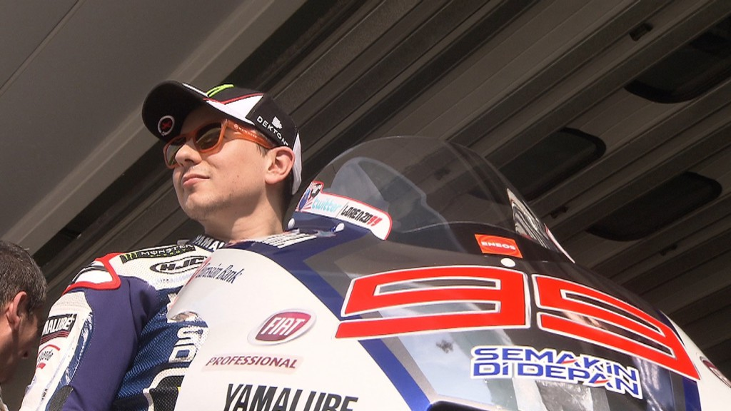Jorge Lorenzo, Yamaha Factory Racing - Sepang Official MotoGP Test 1