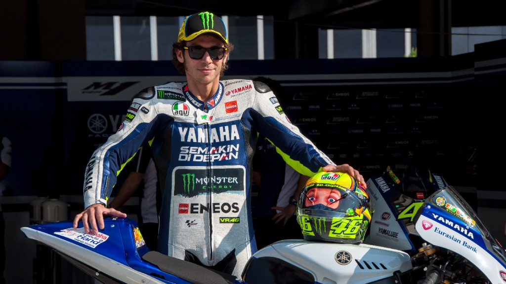 Valentino Rossi, Yamaha Factory Team - Sepang MotoGP Official Test 1
