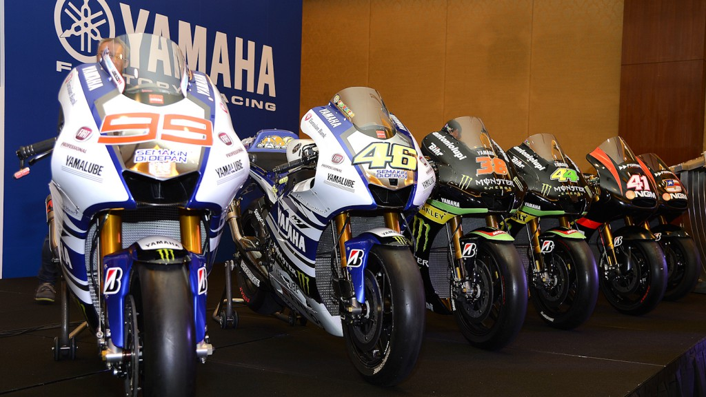 Yamaha Announce 2014 Global Racing Program