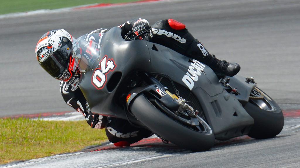 Andrea Dovizioso, Ducati Team - Sepang Official MotoGP Test 2 © Milagro