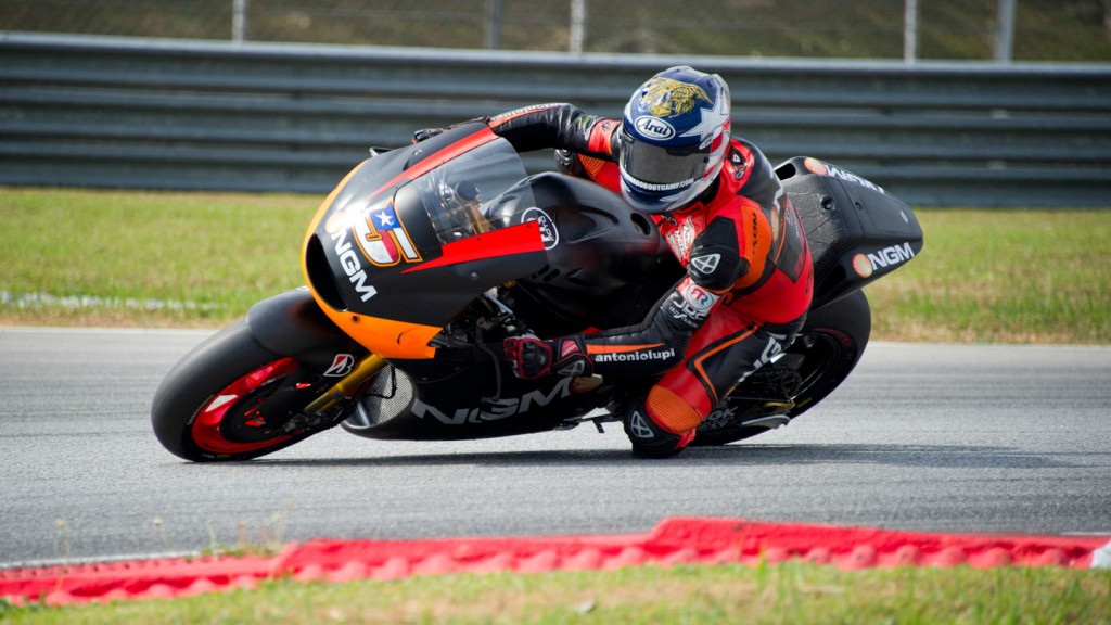 olin Edwards, NGM Mobile Forward Racing - Sepang Official MotoGP Test 2
