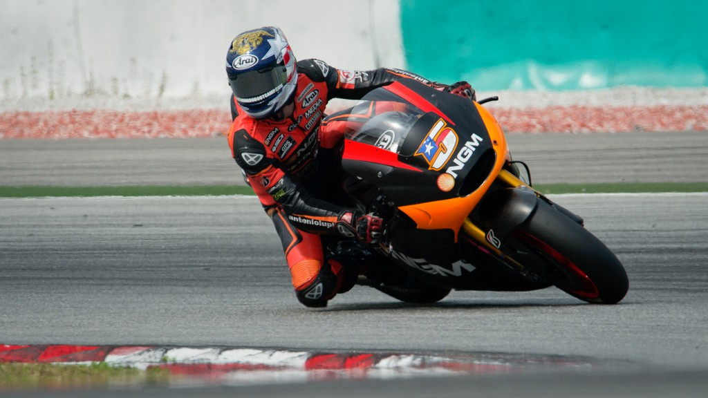 Colin Edwards, NGM Mobile Forward Racing - Sepang Official MotoGP Test 3 © Milagro