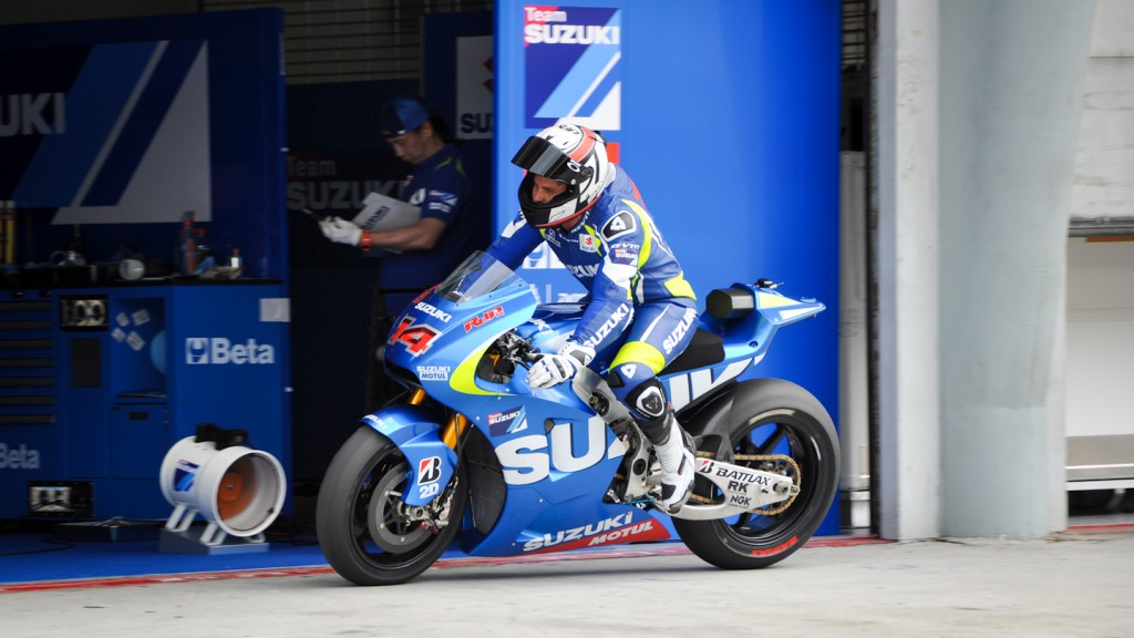 Randy de Puniet, Suzuki Test Team - Sepang Official MotoGP Test 2