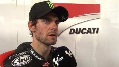 Crutchlow feeling more comfortable on GP14