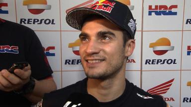 Best lap for Pedrosa with new tyre in Sepang heat