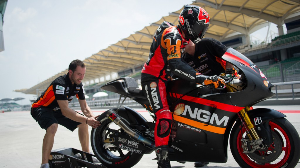 Aleix Espargaro, NGM Mobile Forward Racing - Sepang Official MotoGP Test 3 © Milagro
