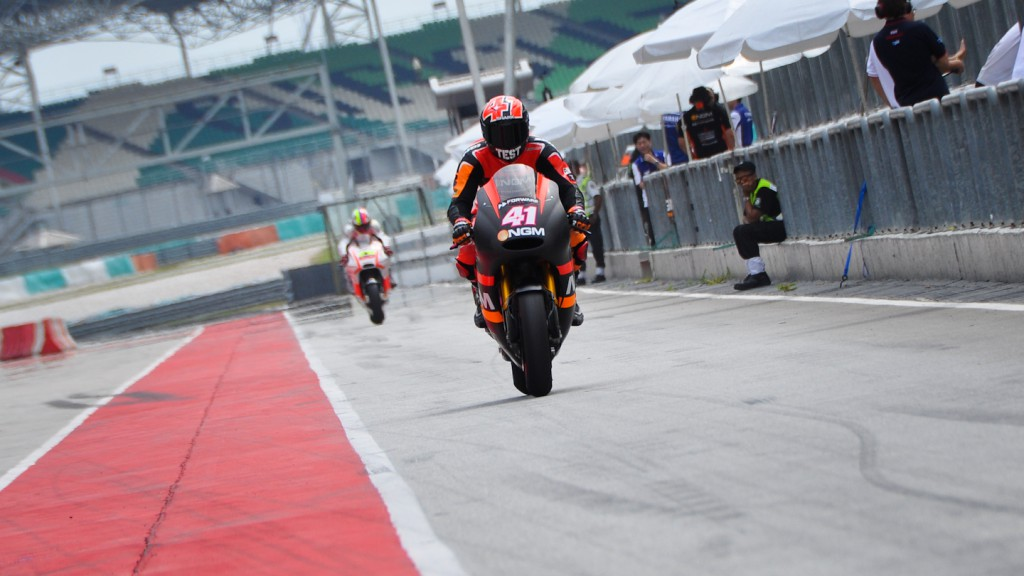 Aleix Espargaro, NGM Mobile Forward Racing - Sepang Official MotoGP Test 2