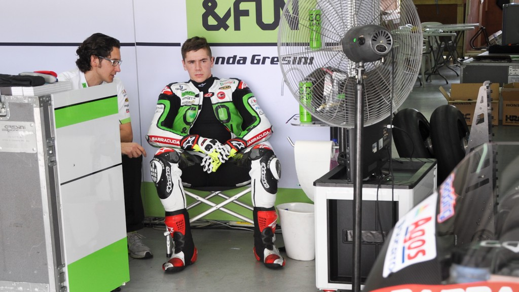 Scott Redding, GO&FUN Honda Gresini- Sepang Official MotoGP Test 2