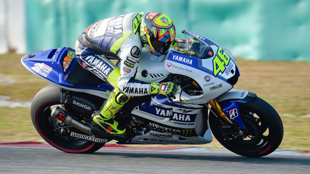 Valentino Rossi, Yamaha Factory Racing - Sepang Official MotoGP Test 3 © Milagro