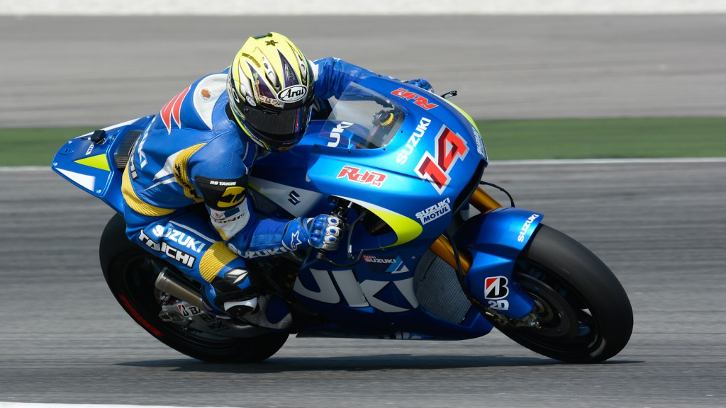 Nobu Aoki, Suzuki Test Team - Sepang Official MotoGP Test 3 © Milagro