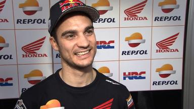 Rear grip and geometry the focus for Pedrosa