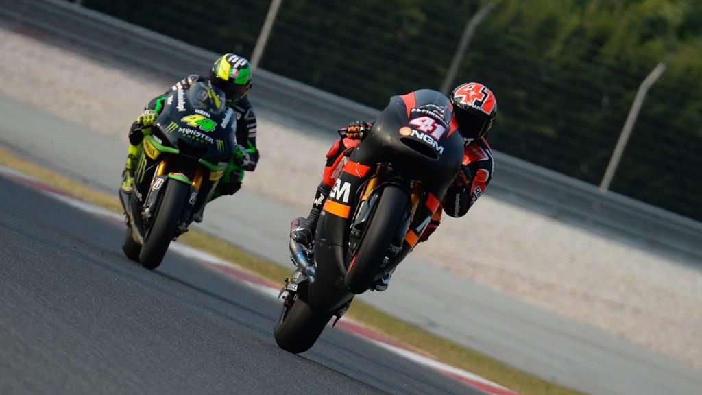 Aleix Espargaro, NGM Mobile Forward Racing - Sepang Official MotoGP Test 3 © Milagro