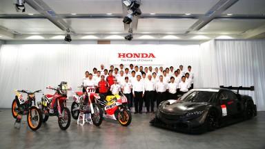 Honda 2014 Motorsports Press Conference