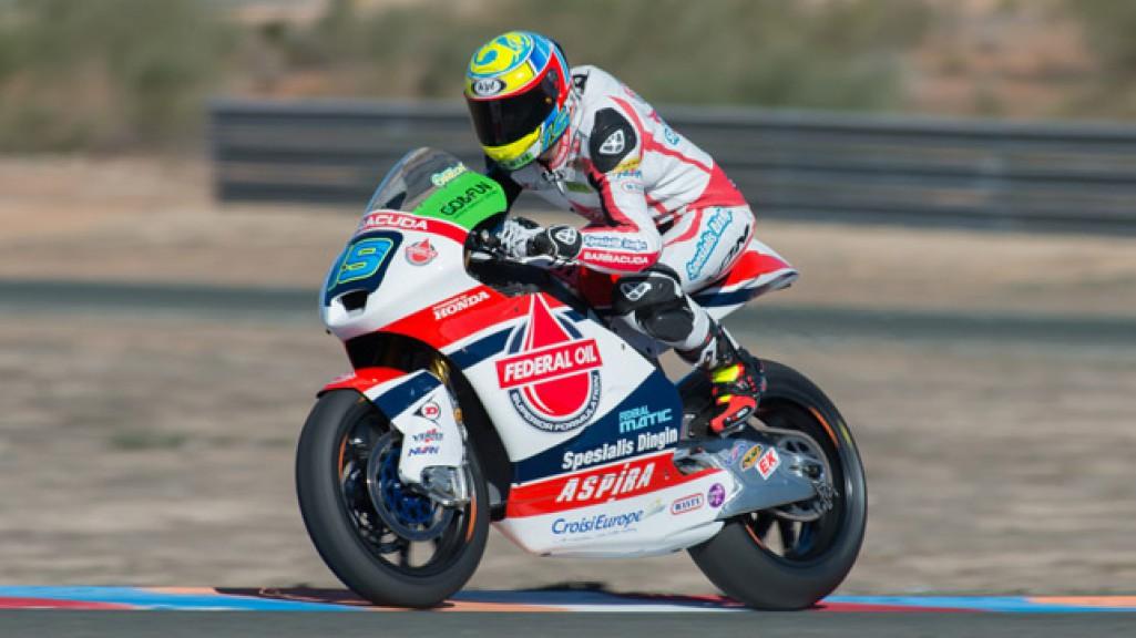 Xavier Simeon, Federal Oil Gresini Moto2, Almeria Test