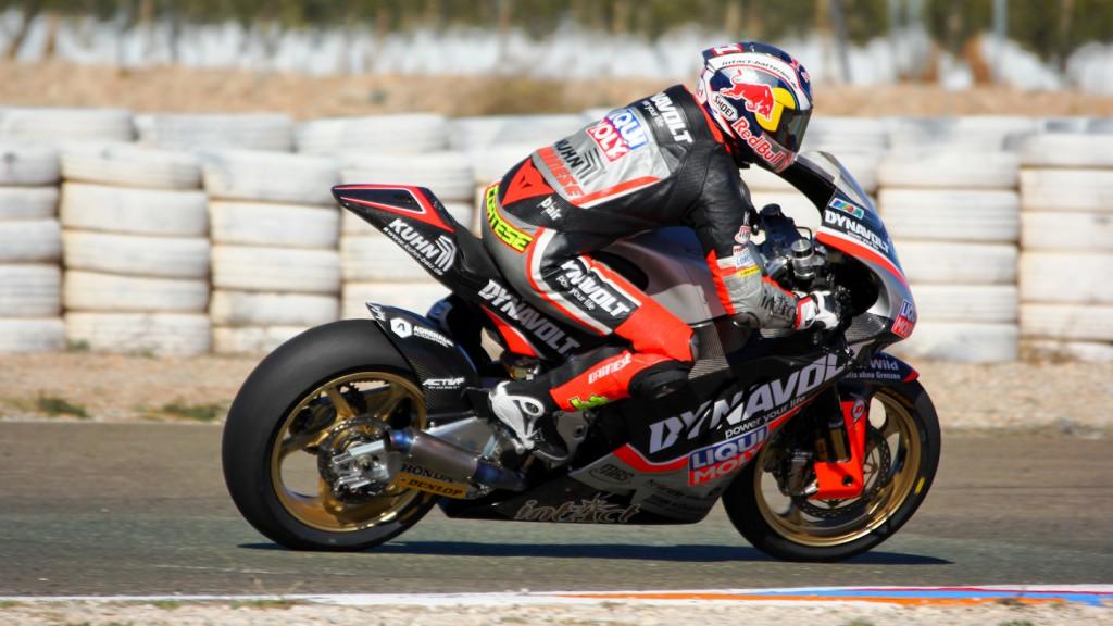 Sandro Cortese, Dynavolt Intact GP, Almería Test  © Max Kroiss