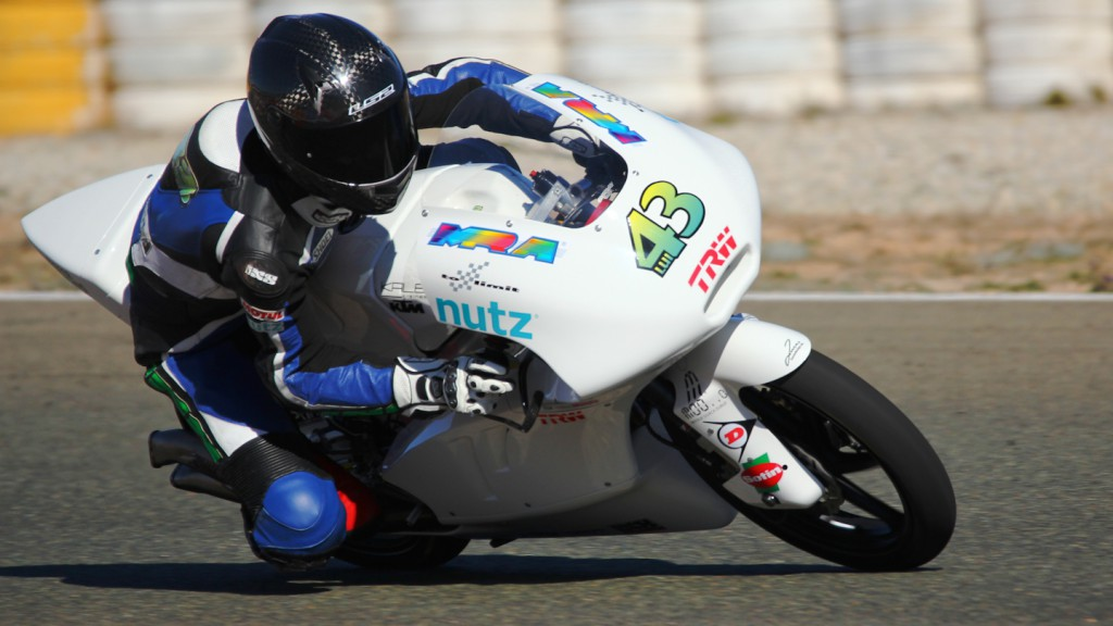 Luca Grunwald, Kiefer Racing, Almería Test © Max Kroiss