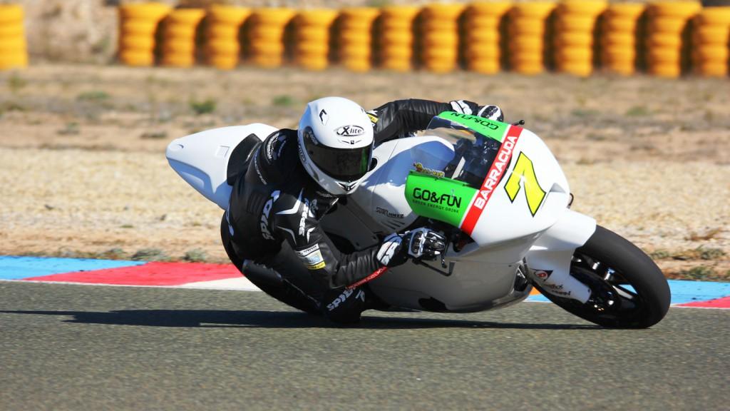 Lorenzo Baldassarri, Gresini Moto2, ALmería Test  © Max Kroiss