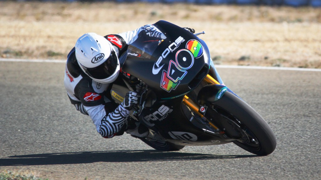 Maverick Viñales, Tuenti HP 40, Almería Test  © Max Kroiss