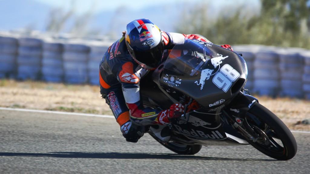 Karel Hanika, Red Bull KTM Ajo, Almería Test  © Max Kroiss