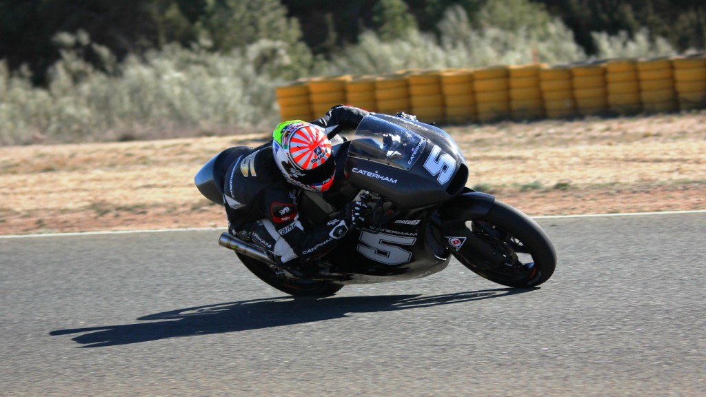 Johann Zarco, Caterham Moto Racing, Almería Test  © Max Kroiss