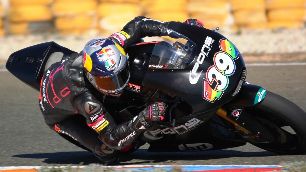 Luis Salom, Tuenti HP 40, Almería Test  © Max Kroiss