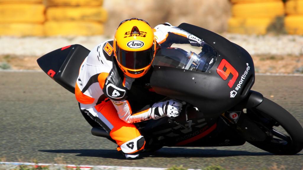 Scott Deroue, RW Racing GP, Almería Test  © Max Kroiss