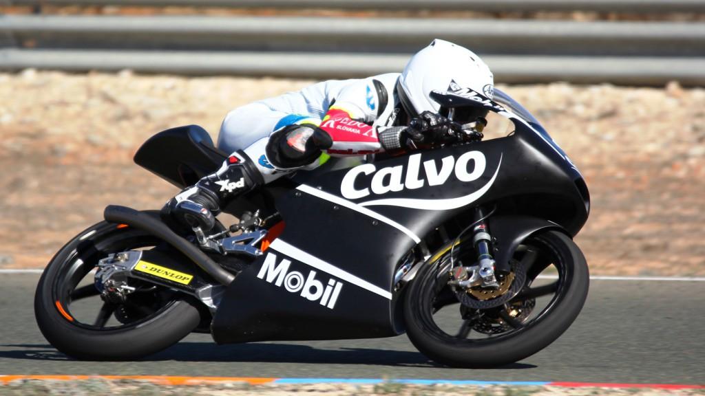 Jakub Kornfeil, Team Calvo, Almería Test © Max Kroiss