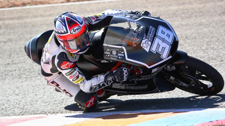 motogp.com · Hafiq Azmi, SIC-AJO, Almería Test © Max Kroiss
