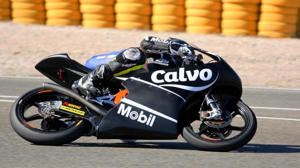 Isaac Viñales, Calvo Team, Almería Test  © Max Kroiss