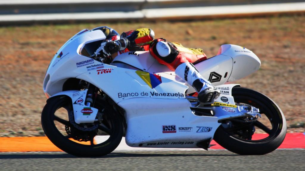 Gabriel Ramos, Kiefer Racing, Almería Test © Max Kroiss
