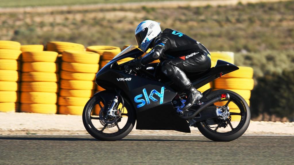 Romano Fenati, Team SKY-VR46, Almería Test © Max Kroiss