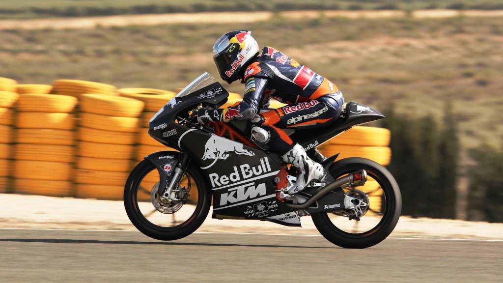 Jack MIller, Red Bull KTM Ajo, Almería Test © Max Kroiss