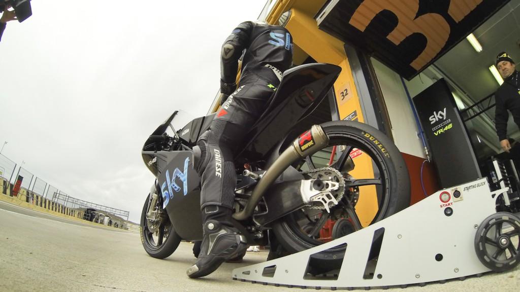 Romano Fenati, Team SKY-VR46, Valencia Test