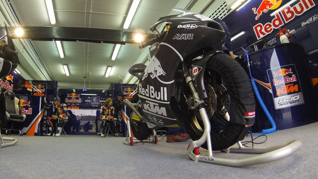 Red Bull KTM Ajo, Valencia Test