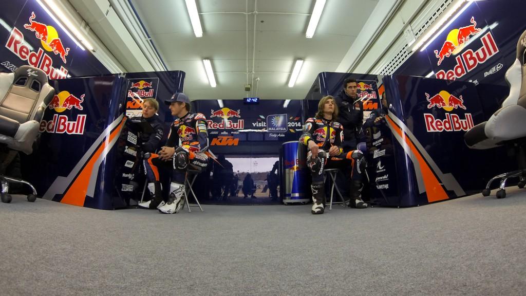 Jack Miller, Karel Hanika, Red Bull KTM Ajo, Valencia Test