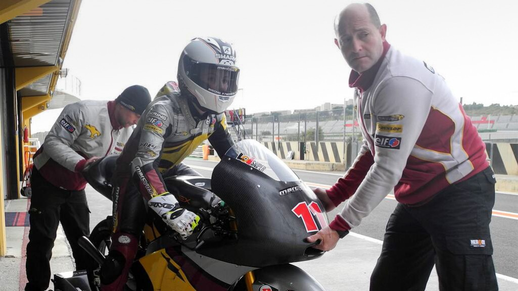 Livio Loi, Marc VDS Racing Team, Valencia Test