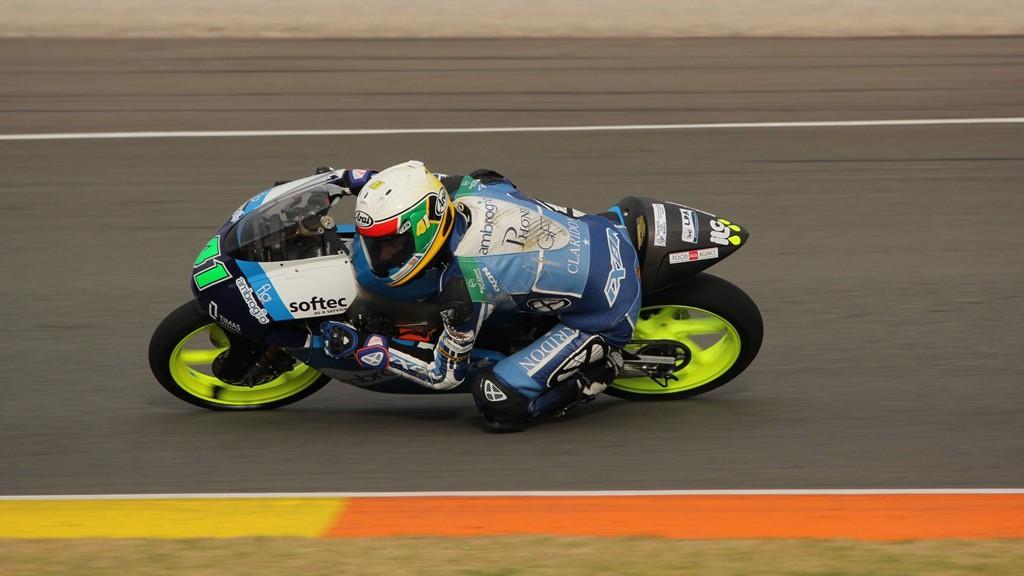 Brad Binder, Ambrogio Racing, Valencia Test © Max Kroiss