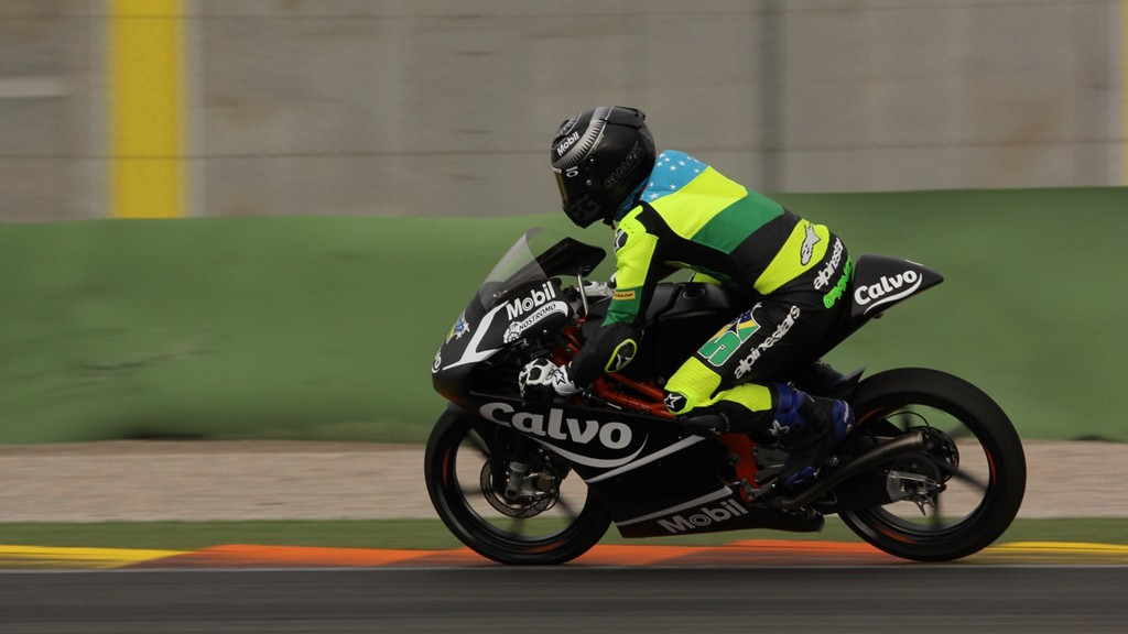 Eric Granado, Team Calvo, Valencia Test © Max Kroiss