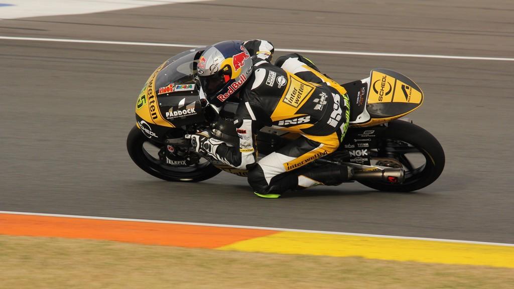 Phillip Oettl, Interwetten Paddock Moto3, Valencia Test © Max Kroiss
