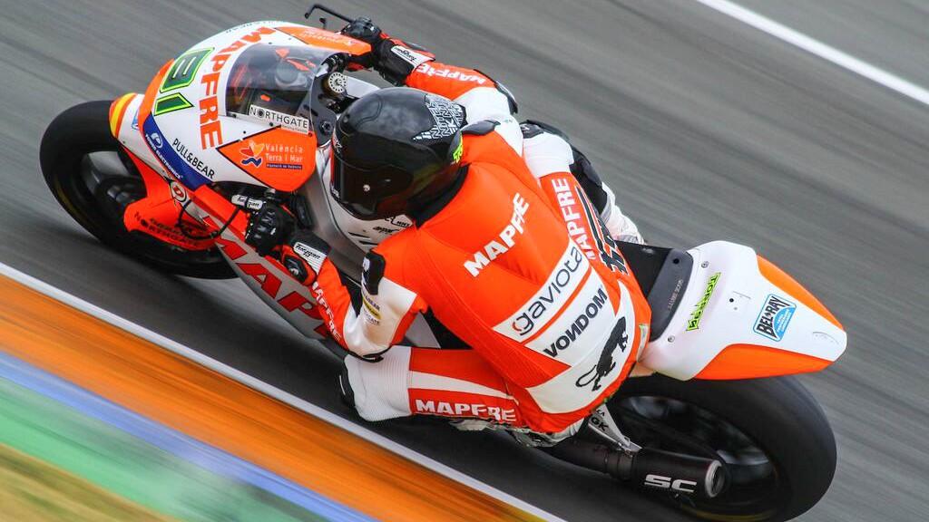 Jordi Torres, Mapfre Aspar Team Moto2, Valencia Test